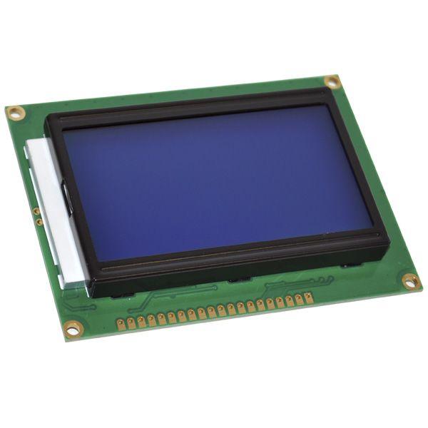 PANTALLA LCD 128X64 PUNTOS AZUL
