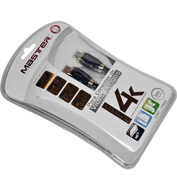 CABLE HDMI 4K, PARA VIDEO JUEGOS 3 M