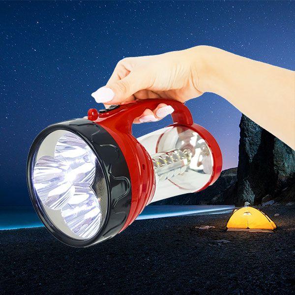 LAMPARA DE LED RECARGABLE 2 EN 1