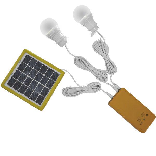 SISTEMA DE ILUMINACIÓN CON TECNOLOGÍA SOLAR, PARA CAMPING Y EMERGENCIAS, 2W.
