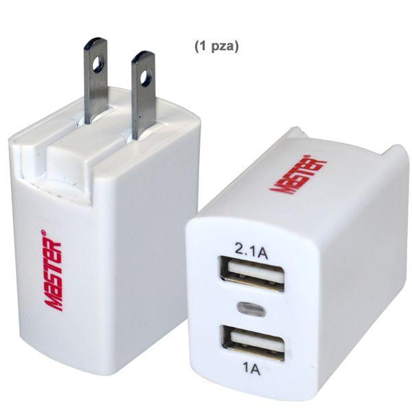CARGADOR USB DUAL
