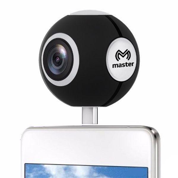 CÁMARA PANORÁMICA HD 360° PARA CELULARES ANDROID VR