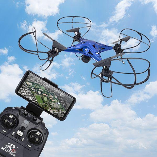 DRONE CON CÁMARA Y CONTROL WIFI