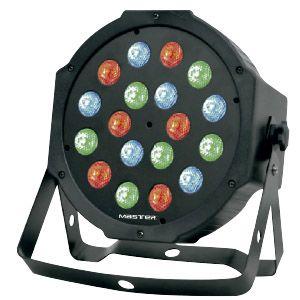 REFLECTOR  PAR  DMX  DE 18 LED   RGB  MULTICOLOR